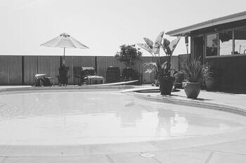 Grayscale of Pool
