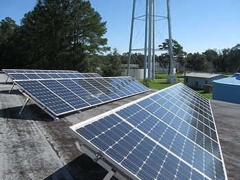 Green Cove Springs solar array