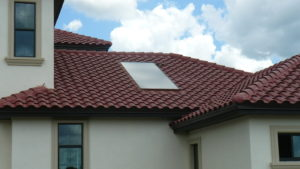 Solar Water Heating-Recessed-Tile