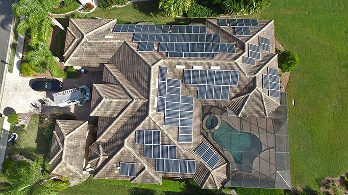 Large Solar Power Plant